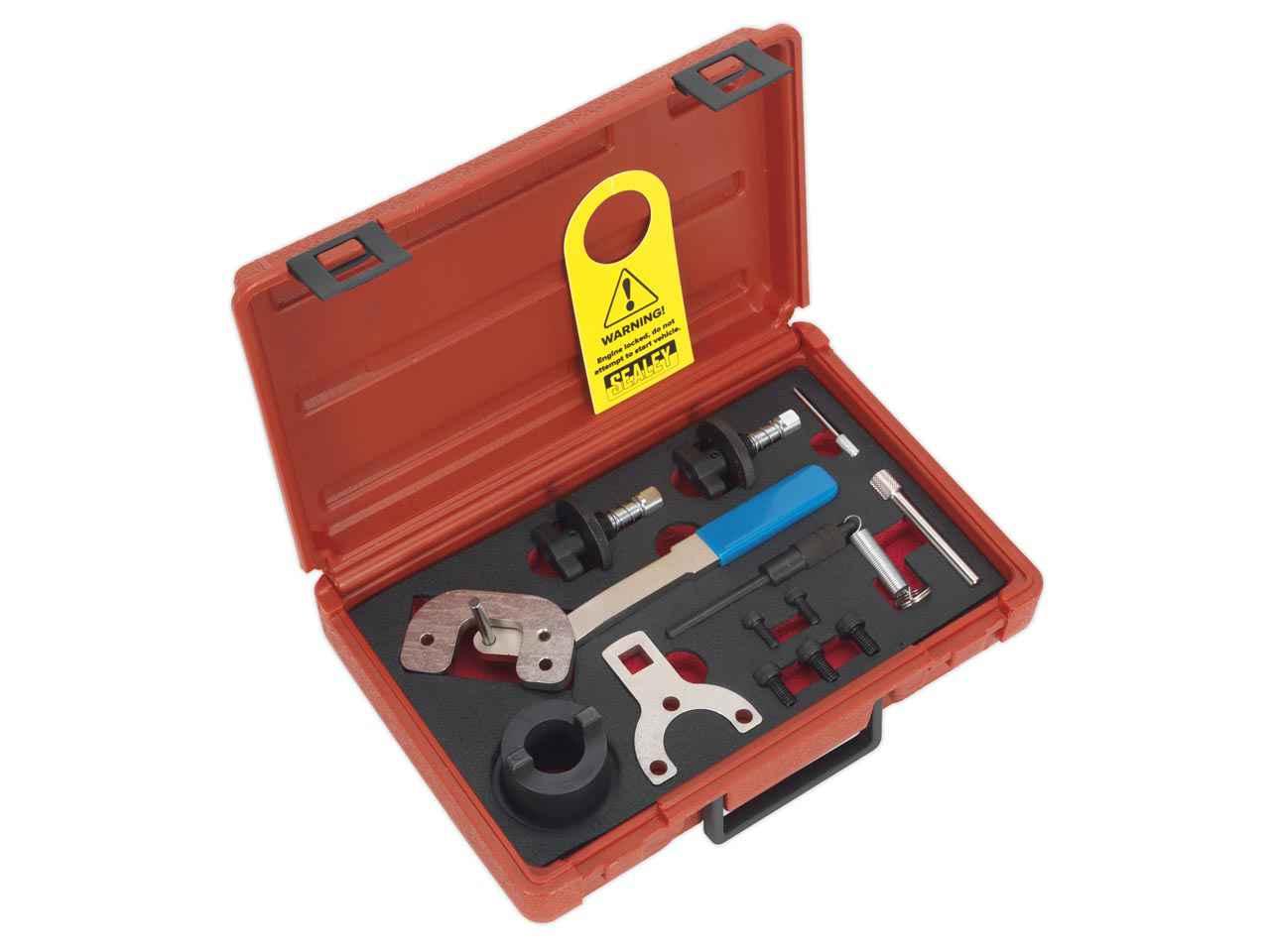 Other Garage Equipment & Tools Garage Equipment & Tools Renault Sealey VS554 Diesel Priming Kit