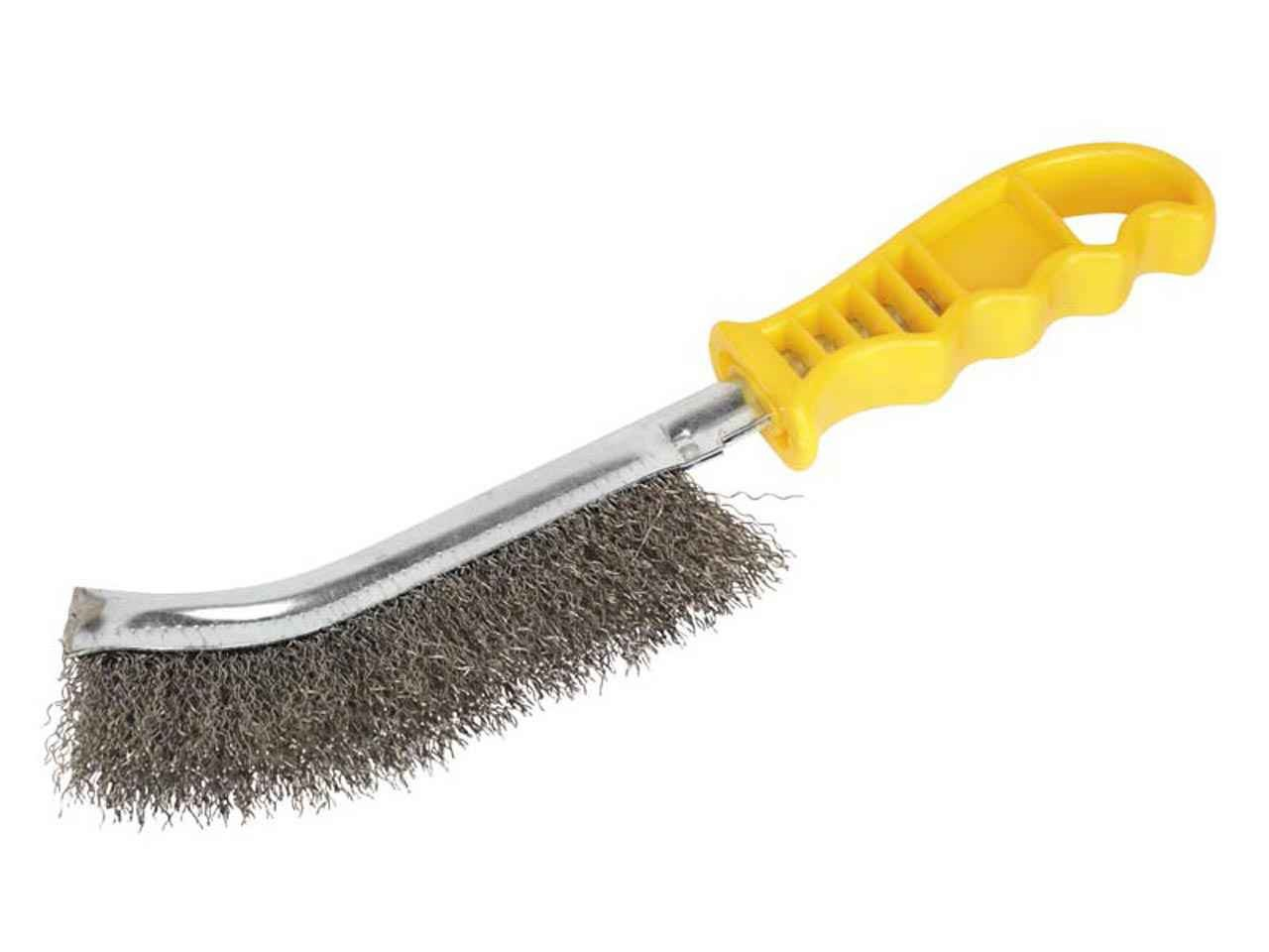 Sealey Wb05y Wire Brush Stainless Steel Plastic Handle