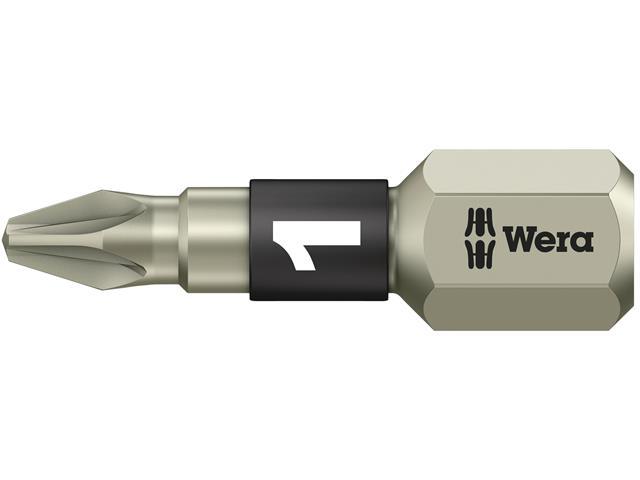 Wera Bi-Torsion Insert Bit Extra Hard Pozidriv Tip Pz 3 X 25mm