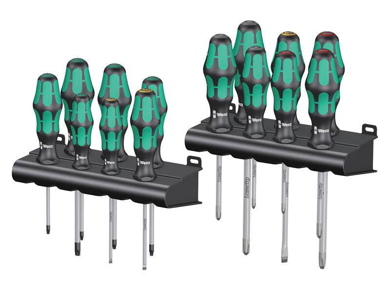 Wera 105630 12 Piece Screwdriver Set SL PZ TX PH