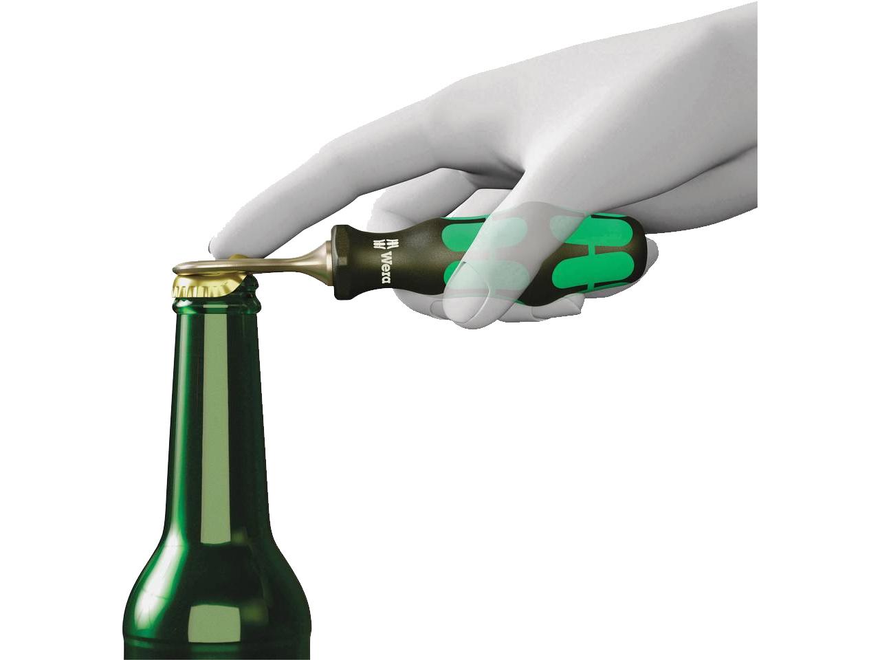 WERA Kraftform Round of Screwdrivers Limited Edition Set Beer Tray /& Opener