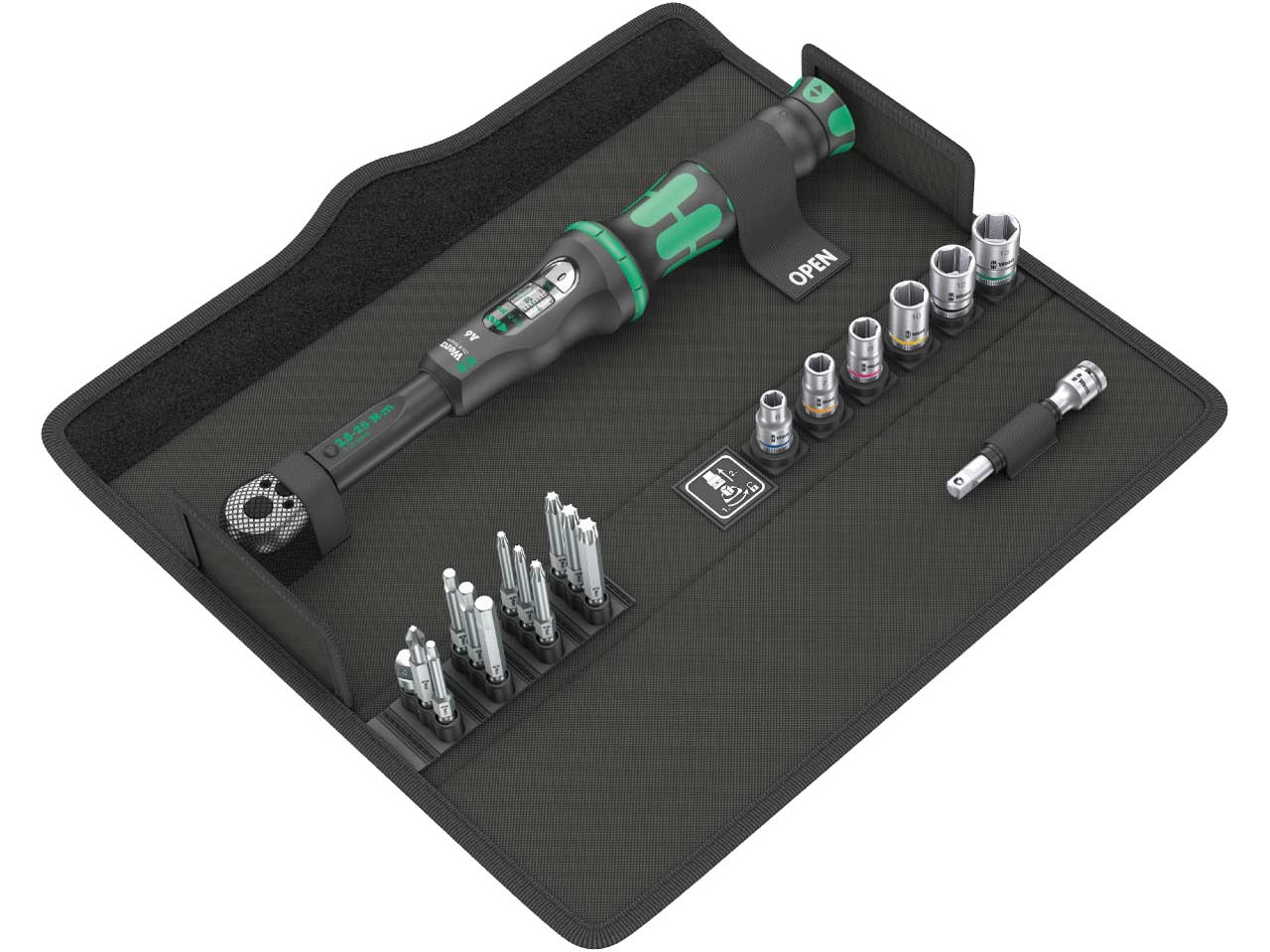 Wera 8100SA9 Zyklop Speed Ratchet Imperial Set of 28 1//4in Drive WER004019