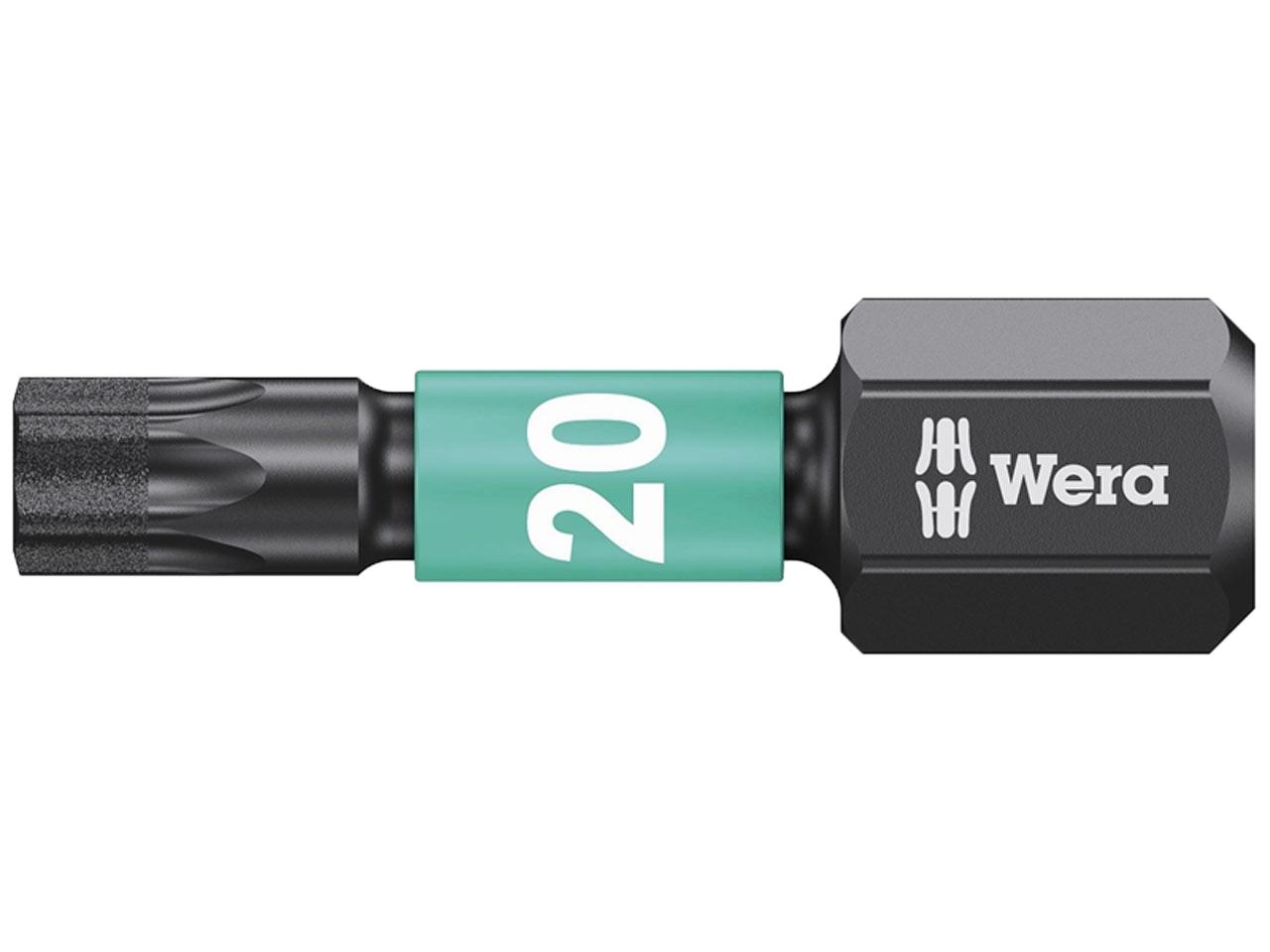 Wera WER057622 855//1 Impaktor Insert Bit Pozi PZ3 X 25 Mm Box 10