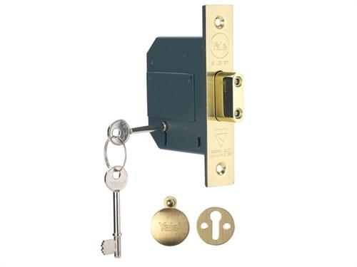 Yale pm562pb30 hohe Sicherheit BS 5 Hebel zapfenloch Bolzenschloss ...