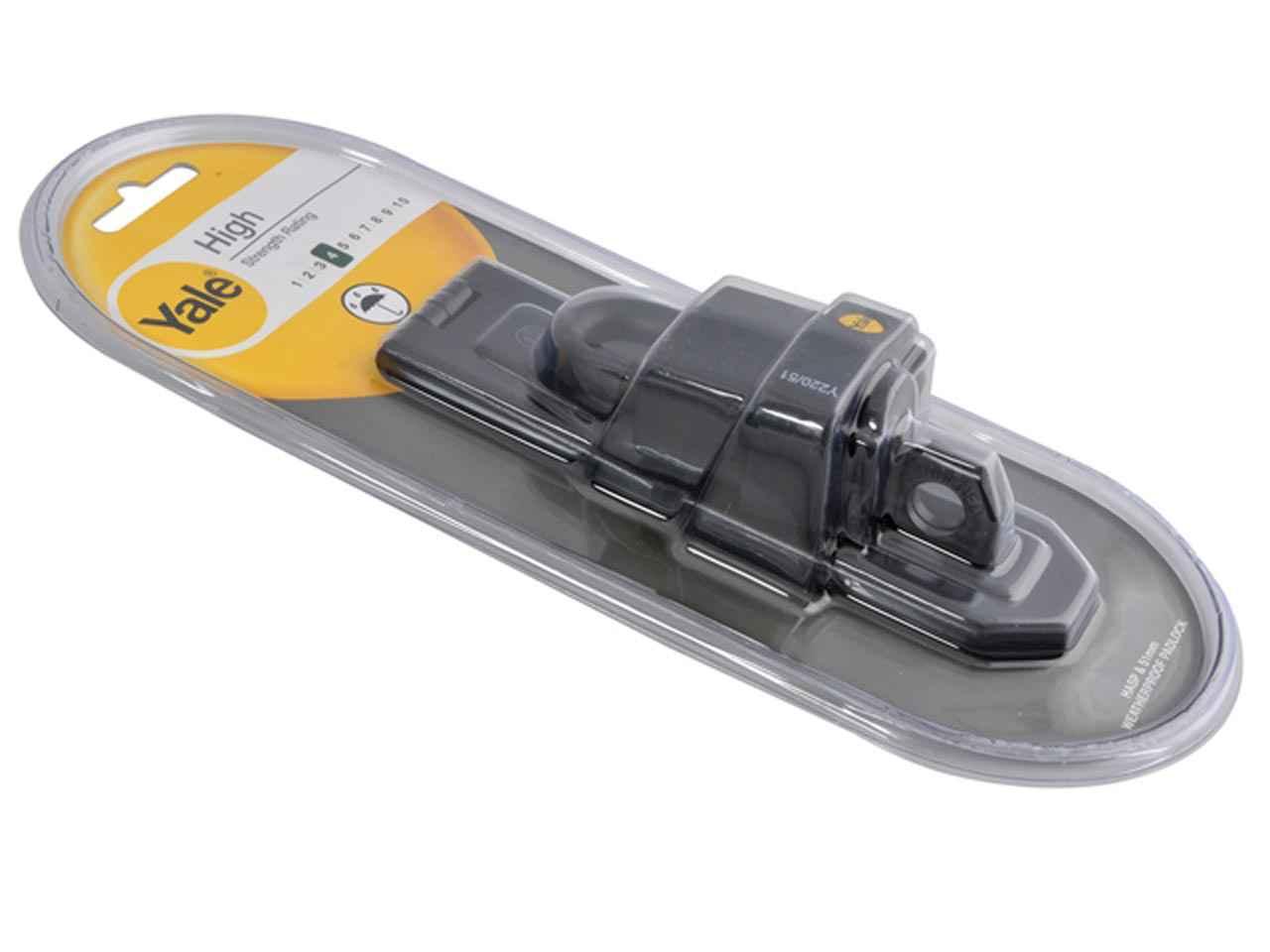 Yale Locks Y220 51mm Hinged Hasp /& Weatherproof Padlock Set