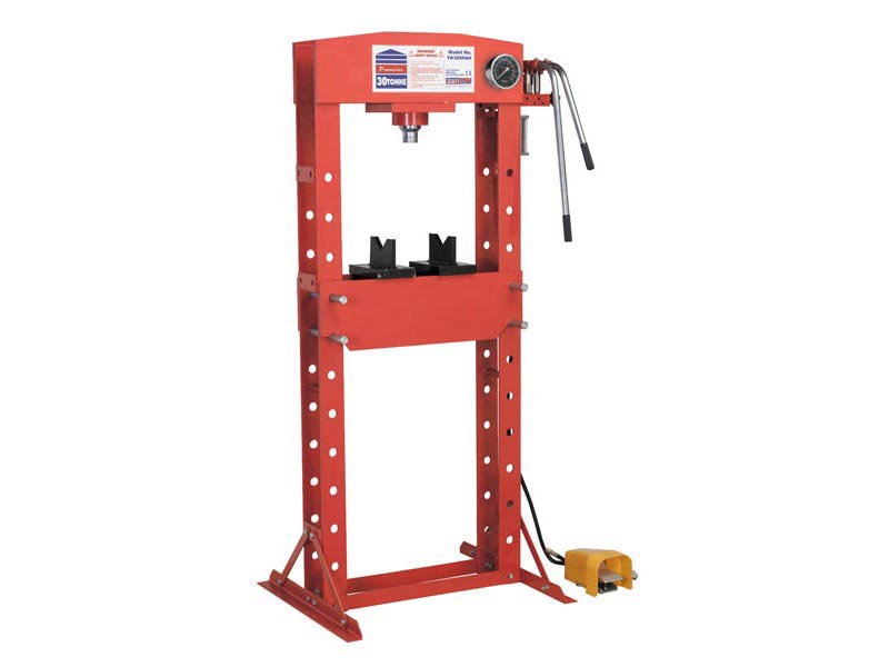 Sealey Yk309fah Air Hydraulic Press 30tonne Floor Type