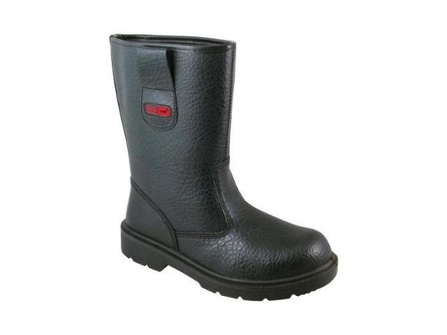 f08c0d50048 Blackrock SF01B SIZE 6 Black Fur Lined Rigger Safety Boot