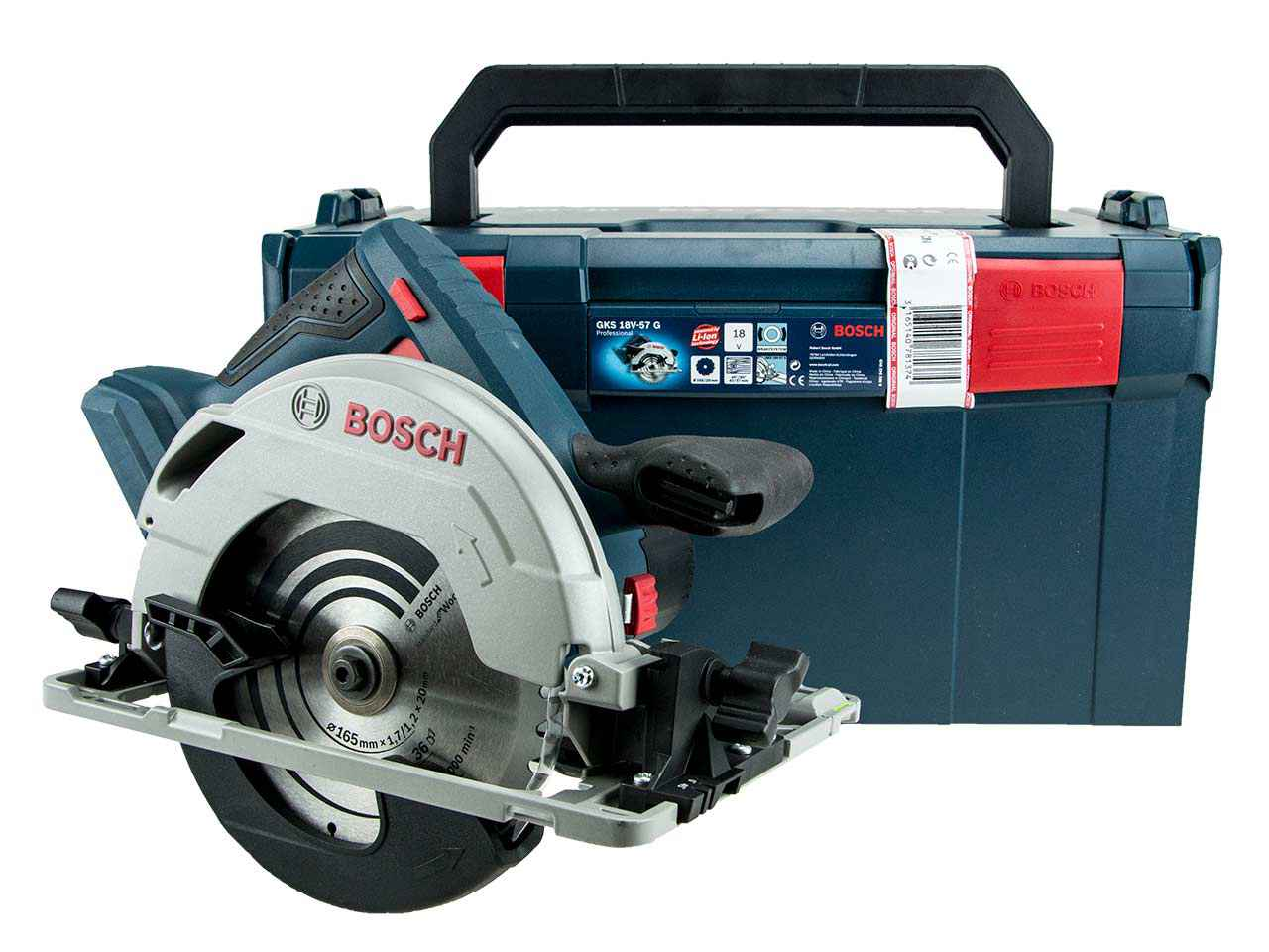 bosch gks18v57g 18v circular saw bare unit l boxx. Black Bedroom Furniture Sets. Home Design Ideas