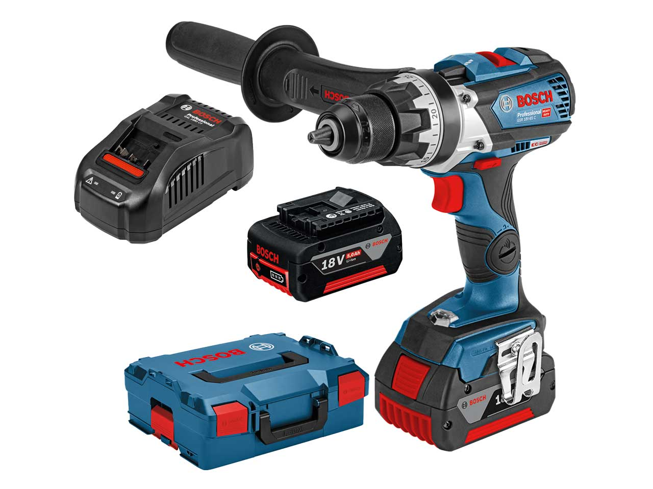 bosch gsr 18v 85 c 18v professional cordless drill driver kit ebay. Black Bedroom Furniture Sets. Home Design Ideas