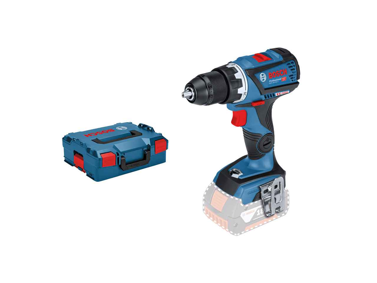 bosch 06019g1103 18v professional cordless drill driver. Black Bedroom Furniture Sets. Home Design Ideas
