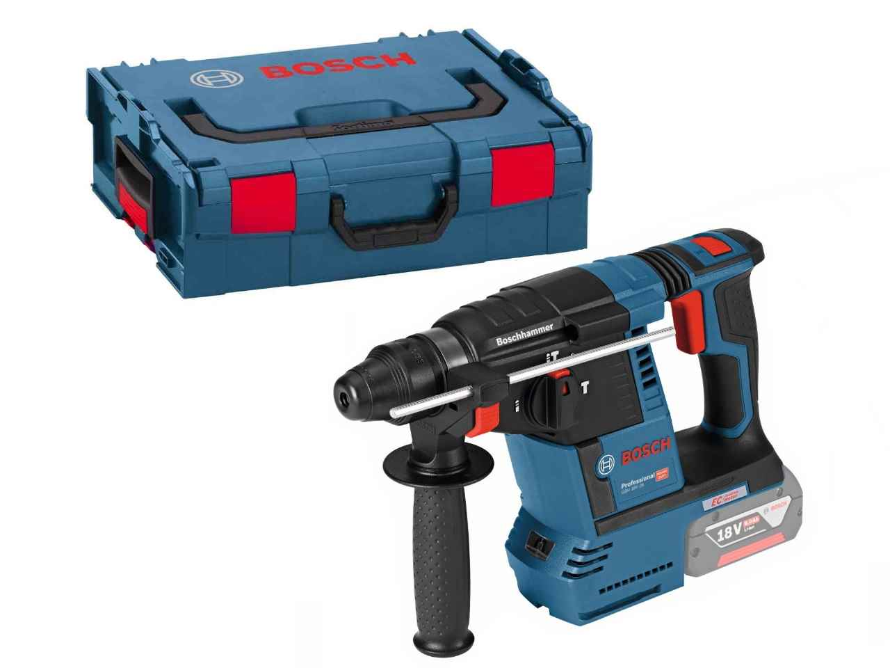 bosch gbh18v 26 18v brushless rotary hammer bare unit in l boxx 0611909001 ebay. Black Bedroom Furniture Sets. Home Design Ideas