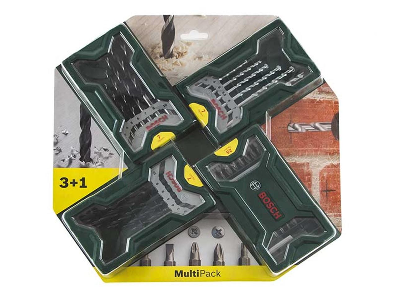 Voorkeur Bosch 2607017071 3+1 Mini X-Line Multipack set KX02