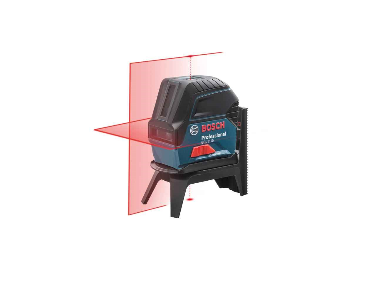 Bosch Gcl215 Self Levelling Cross Line Laser And Plumb Level Gll 3 15 Mini Authorised Reseller