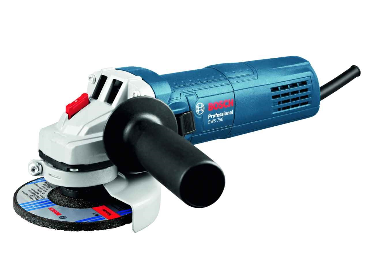 bosch gws 750 240v professional corded angle grinder 115mm. Black Bedroom Furniture Sets. Home Design Ideas
