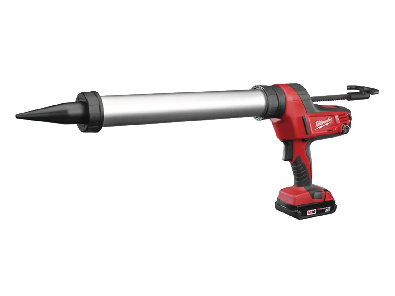 Milwaukee C18pcg600a 201b 600ml Aluminium 18v Caulking Gun