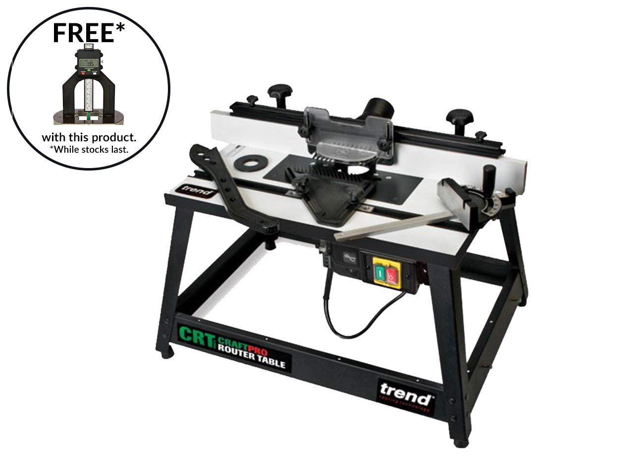 Trend crtmk3l craftpro router table mk3 115v greentooth Choice Image