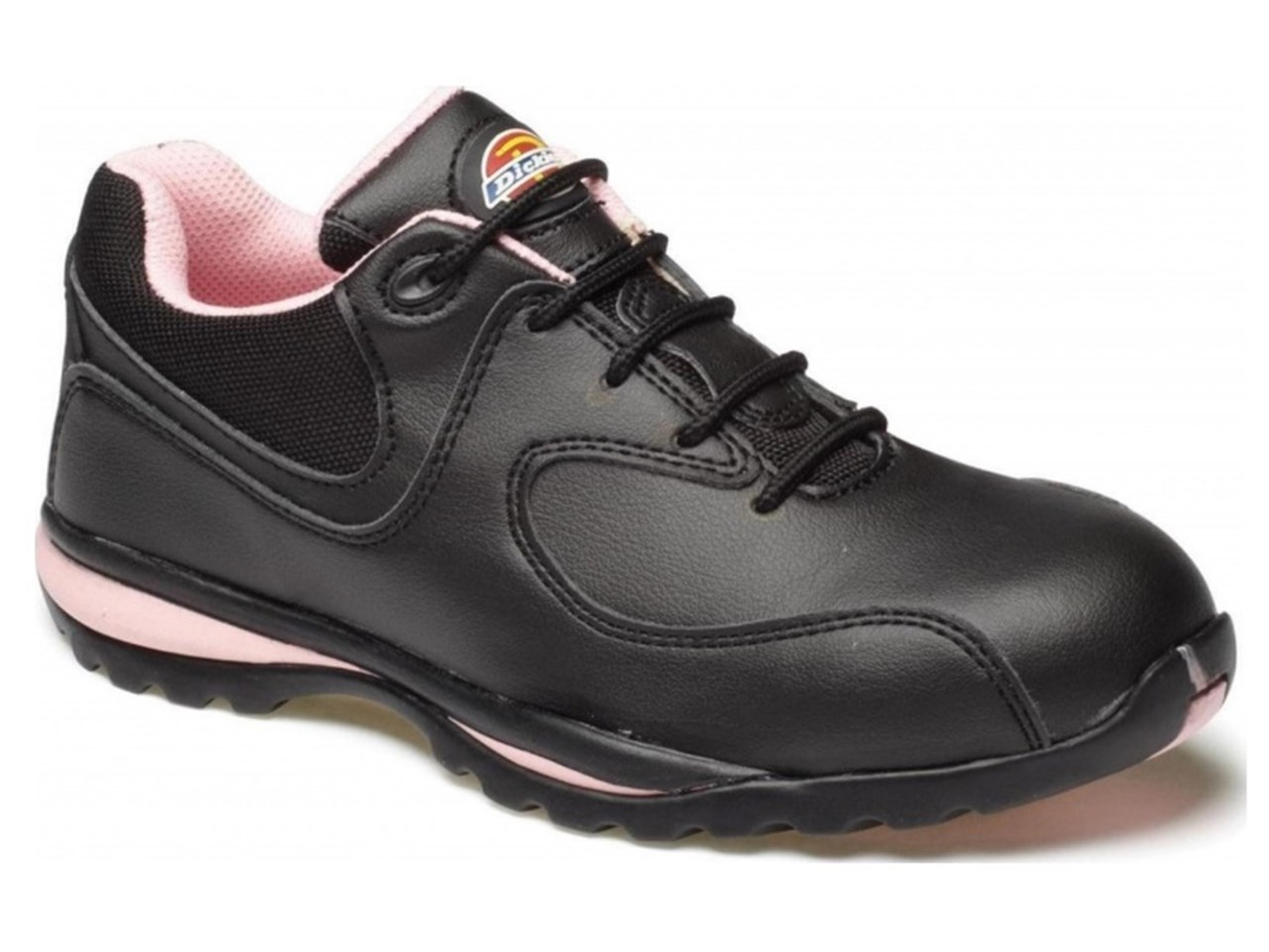 cheap for discount order online shades of Dickies FD13905 Ohio Ladies Safety Trainer Pink and Black Size 5