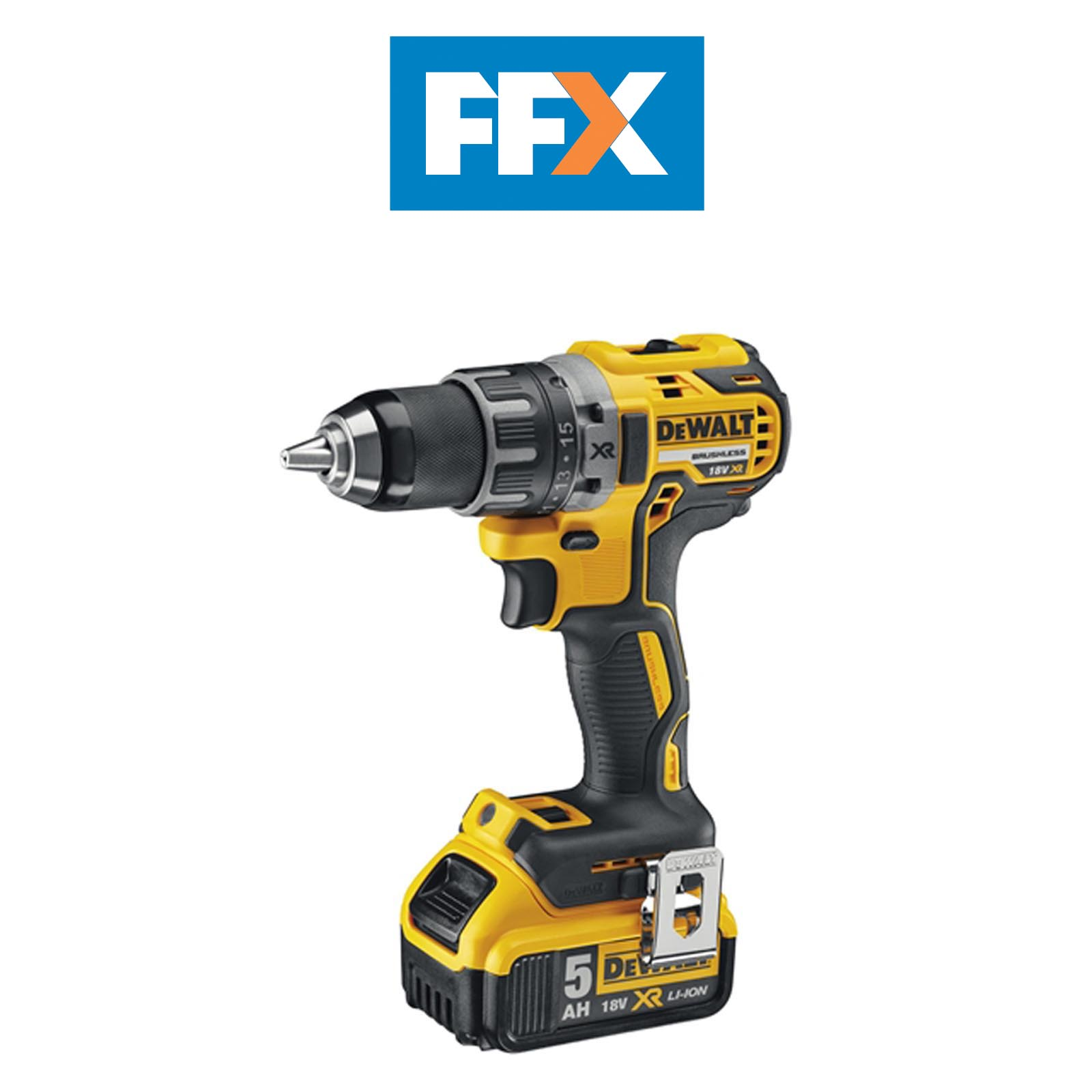 dewalt dcd791n 18v xr brushless compact drill driver ebay. Black Bedroom Furniture Sets. Home Design Ideas