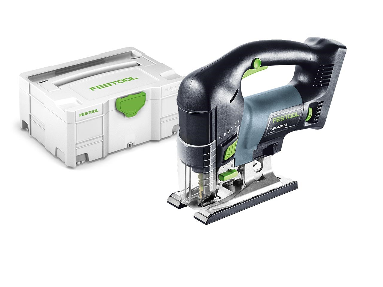 festool psbc 420 li eb basic 18v li ion pendulum jigsaw bare unit. Black Bedroom Furniture Sets. Home Design Ideas
