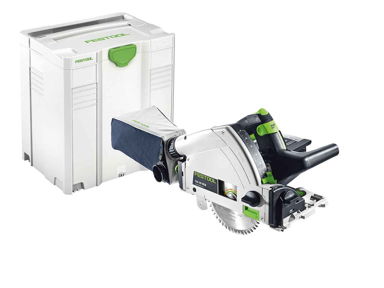 festool tsc 55 li reb basic 18v cordless plunge saw bare unit in systainer 5 ebay. Black Bedroom Furniture Sets. Home Design Ideas
