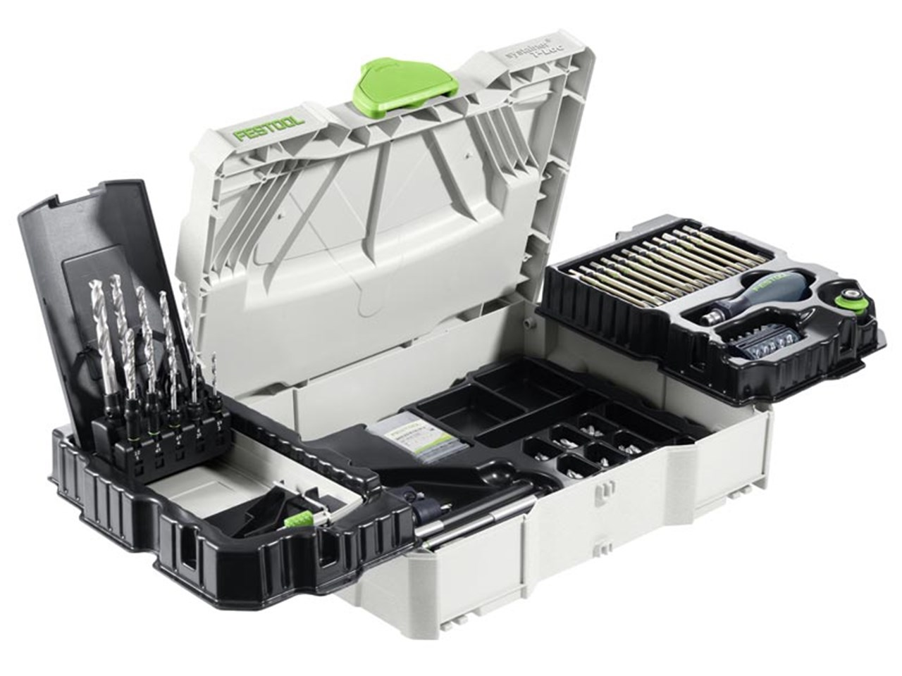 Festool Sys1 Ce Sort Centrotec Systainer Kit 98 Piece