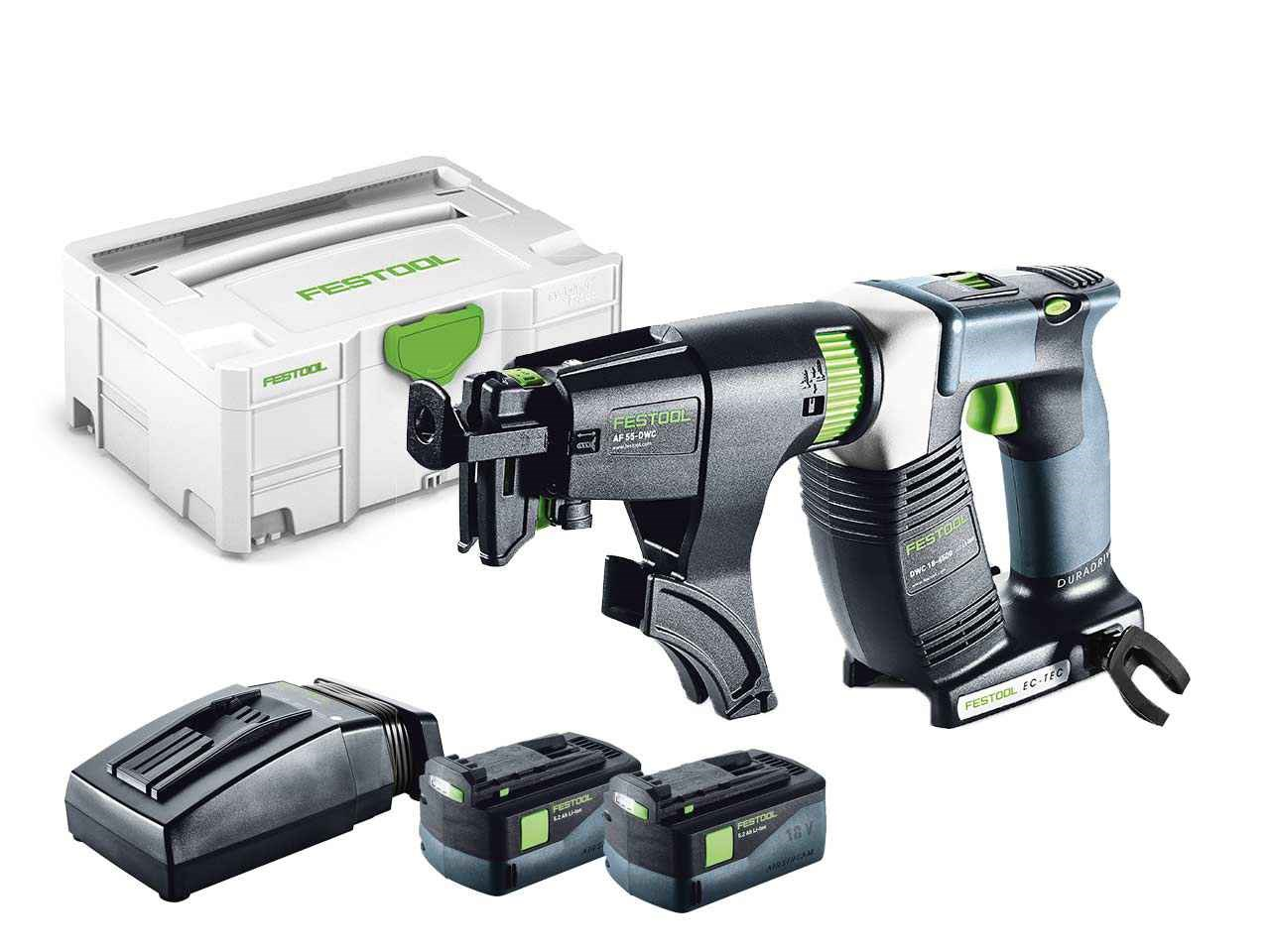 festool dwc 18 4500 li 5 2 plus 18v drywall screwdriver systainer 2. Black Bedroom Furniture Sets. Home Design Ideas