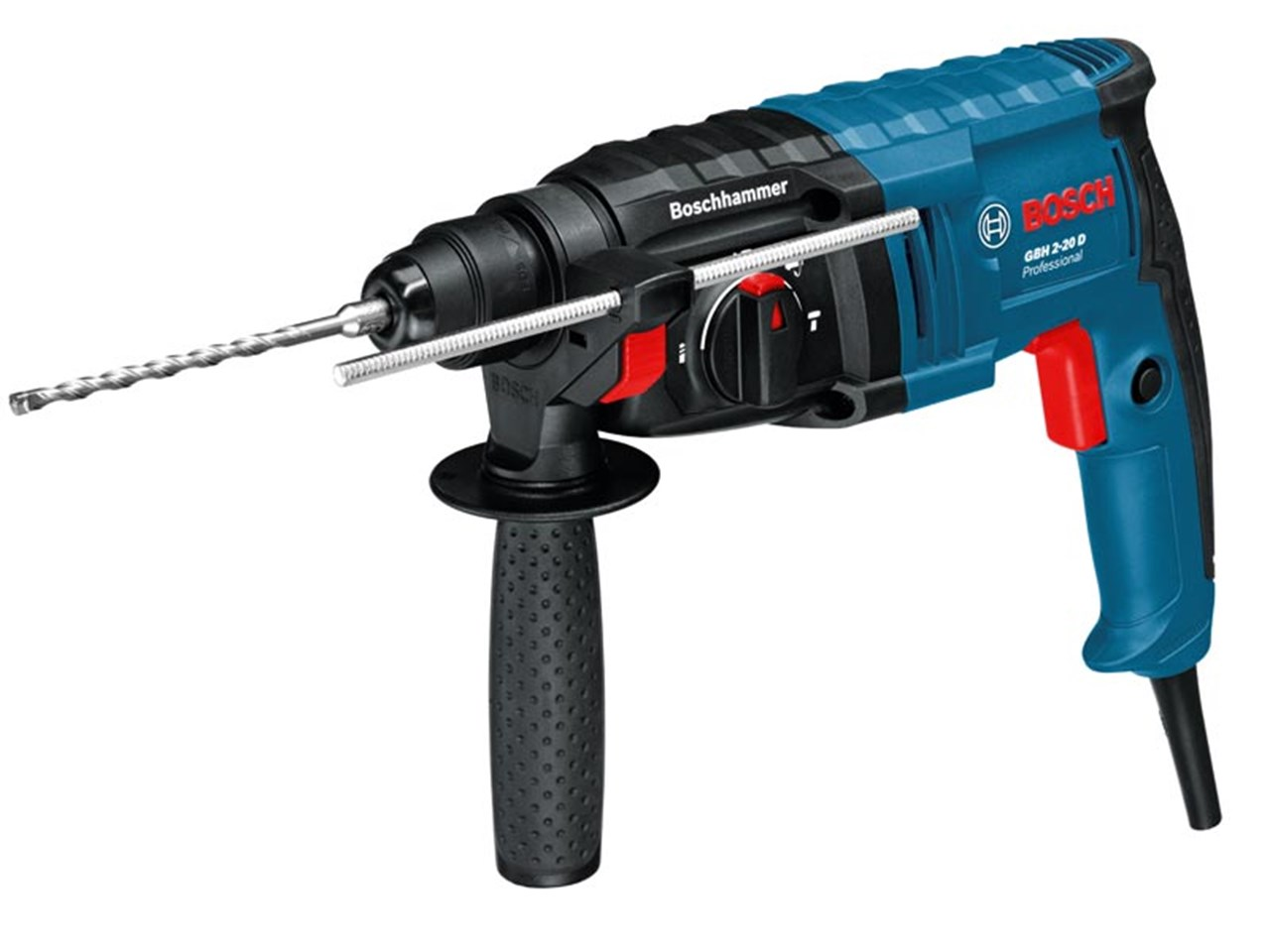 bosch gbh2 20d 110v sds rotary hammer drill 3 mode 650w. Black Bedroom Furniture Sets. Home Design Ideas