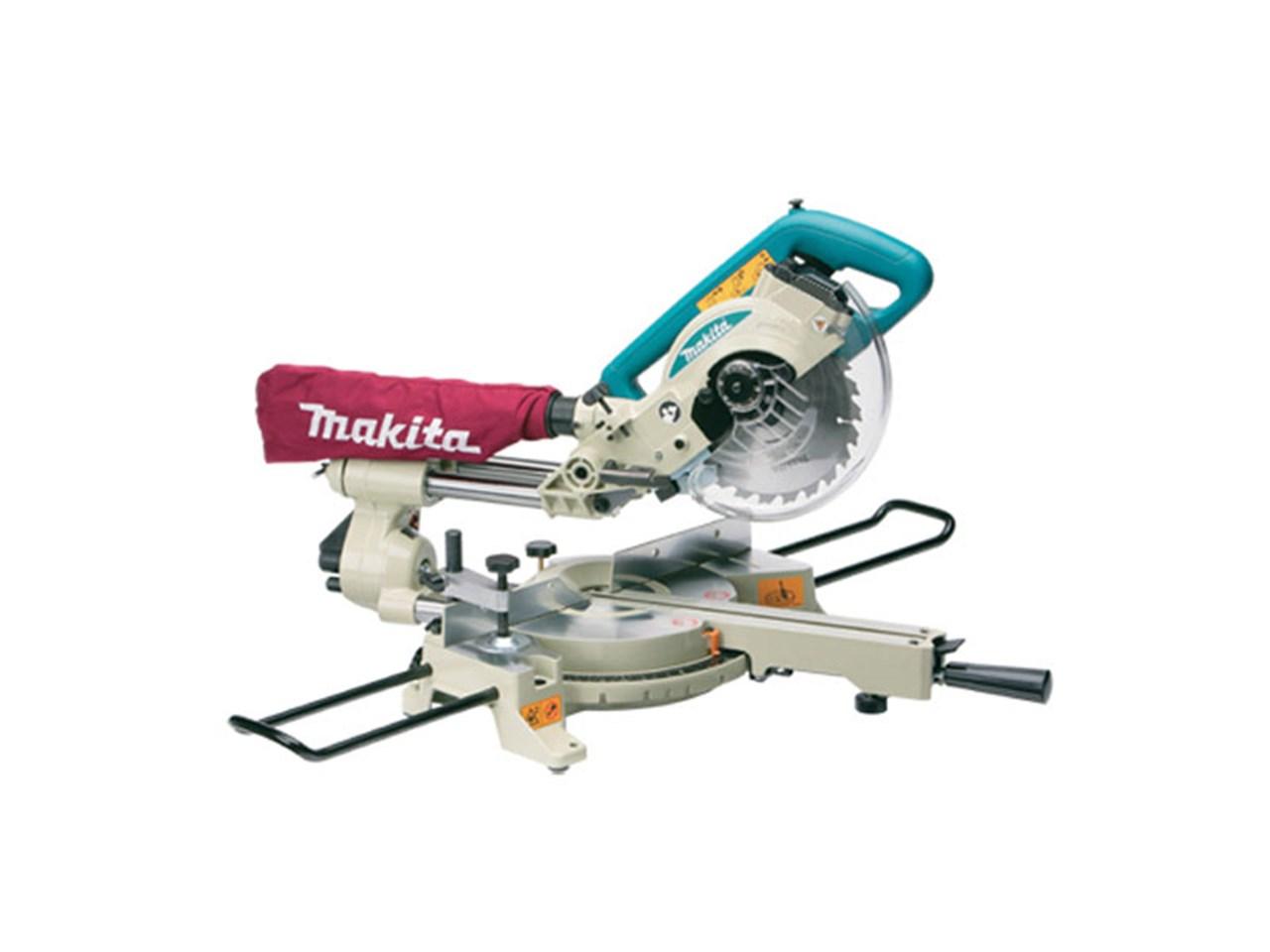 Makita ls0714 240v 190mm slide compound mitre saw greentooth Choice Image