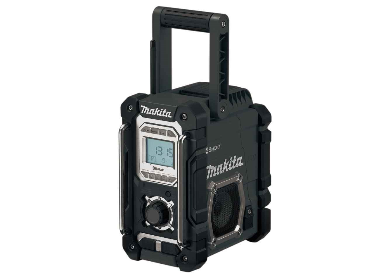 makita dmr108b job site radio black with bluetooth. Black Bedroom Furniture Sets. Home Design Ideas