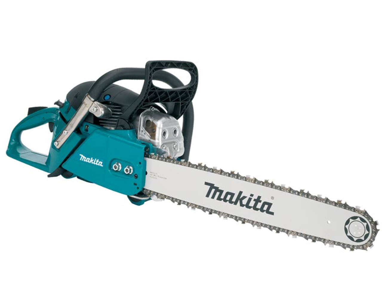 Makita ea7300p45e 726cc 2 stroke petrol chainsaw 450mm bar greentooth Choice Image