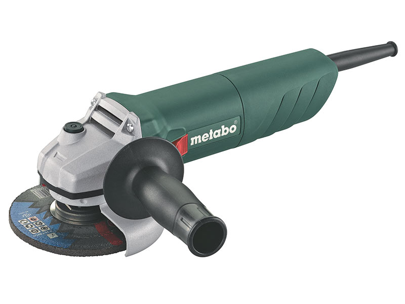 Metabo W750-115//1 110v 700w 4.5in Angle Grinder with Restart Protection