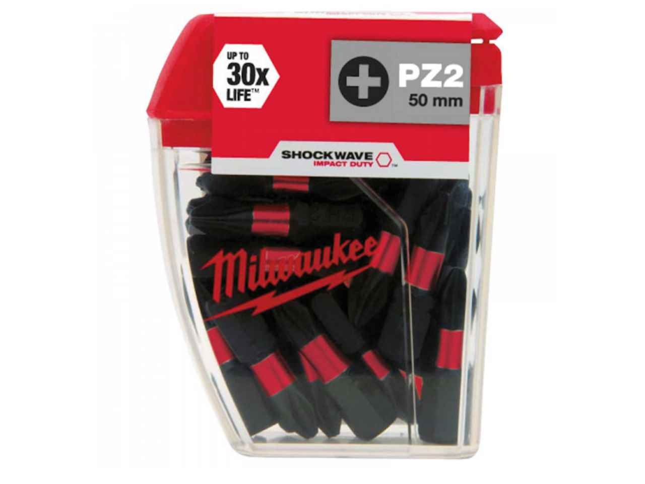 Milwaukee 4932430880 25 x 25MM Shockwave TX25 Bits
