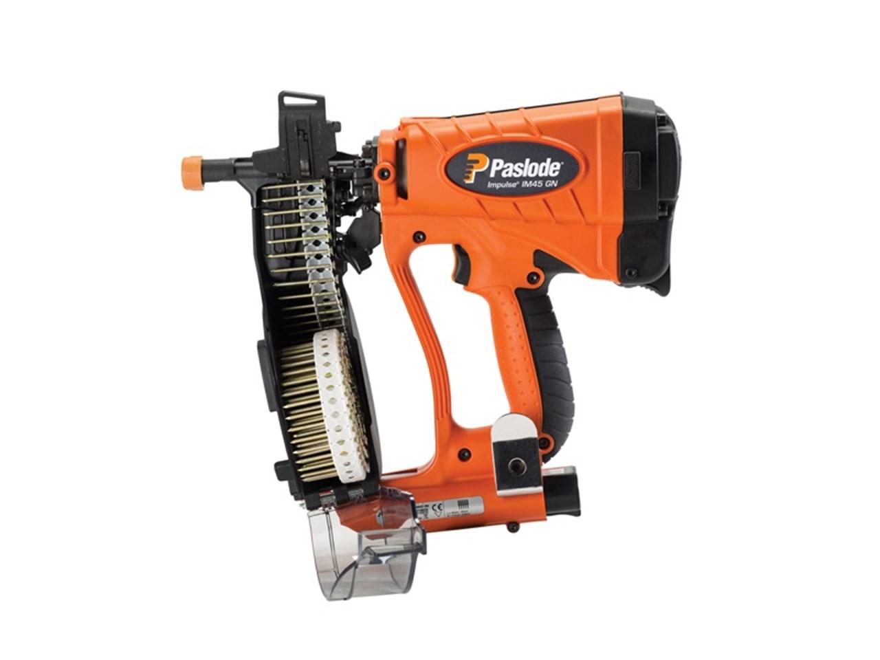 Paslode IM45GN Multi Purpose Plastic Coil Nailer / Nail Gun
