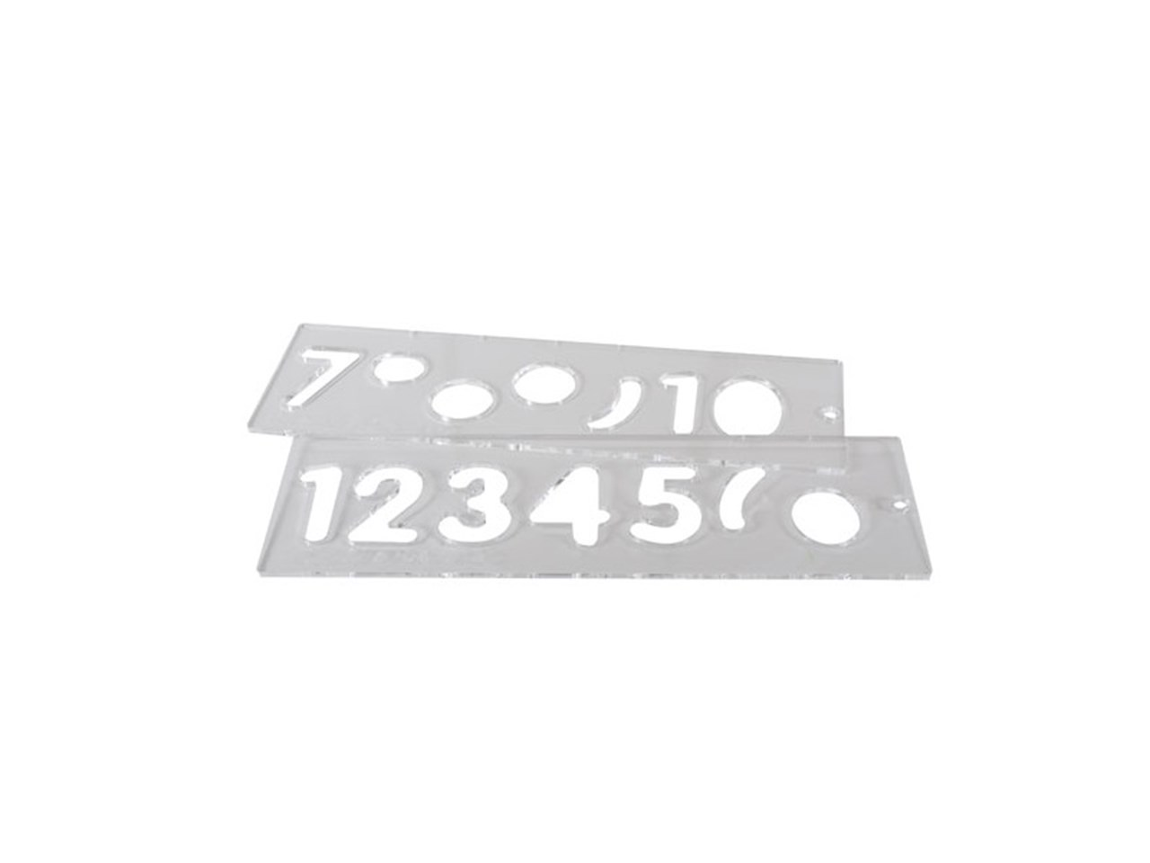 trend tempnuc57 template uppercase number set 57mm
